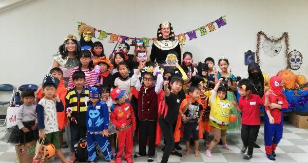 英語を使った素晴らしいハロウィーンパーティーがありました